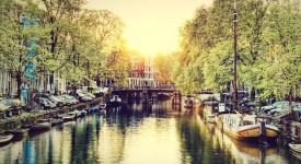 Амстердам - город каналов