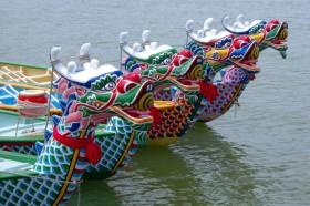 Фестиваль лодок в Гонконге