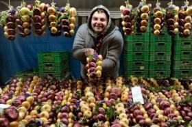 Zibelemarit Луковый рынок