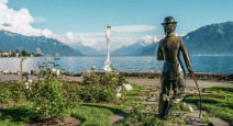 Швейцария: Веве и дом-музей Чаплина